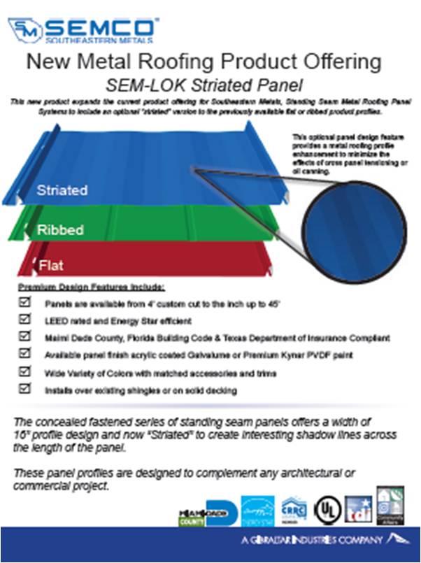 Corrugated Semco Southeastern Metals